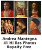 Andrea Mantegna 41 High Resolution Royalty Free Paintings