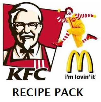 Product picture McDonalds and KFC Recipes