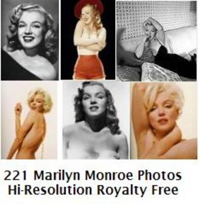 Product picture Marilyn Monroe 221 High Resolution Royalty Free Photos