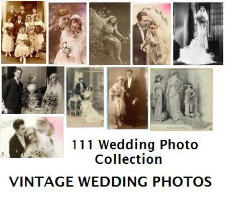 Product picture 111 Quality Vintage Wedding Photos Collection