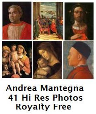 Product picture Andrea Mantegna 41 High Resolution Royalty Free Paintings