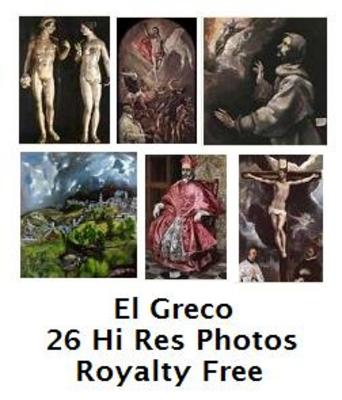 Product picture El Greco 26 High Resolution Royalty Free Paintings
