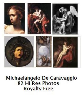 Product picture Michaelangelo De Caravaggio 82 High Resolution Royalty Free